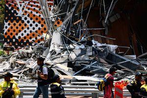 В Мехико обрушился торговый центр