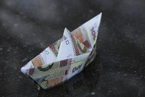 В Украине рухнул курс евро