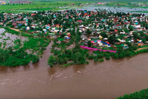 Российские телеканалы замалчивают наводнение в Забайкалье во время ЧМ