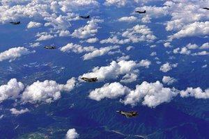 ВВС Южной Кореи поднялись в небо для перехвата российских самолетов