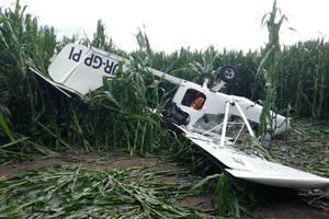 В Сумской области разбился самолет: погиб человек