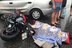 Смертельное ДТП произошло в Одессе: мотоциклист погиб на месте