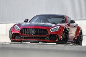 Немцы построили очень широкий и низкий Mercedes-AMG GT S