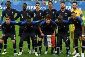 На футболки сборной Франции уже нанесли вторую звезду за победу на ЧМ-2018