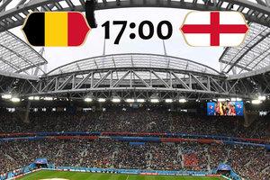 Онлайн матча за третье место чемпионата мира Бельгия - Англия - 1:0
