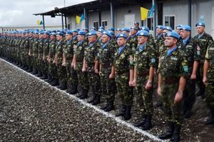 В условиях войны с Россией украинские миротворцы выполняют задачи в семи странах мира – Турчинов