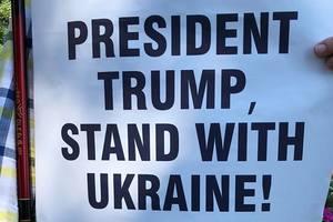 Встреча Трампа и Путина: активисты в Хельсинки напомнили об Украине