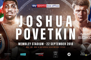 Бой Джошуа - Поветкин пройдет 22 сентября в Лондоне - официально