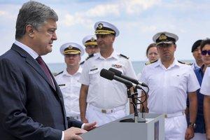Украина вместе с НАТО защищает Европу от российской агрессии - Порошенко