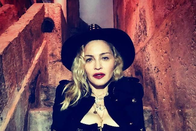 Редкостный эпизод: Мадонна показала фото ссобственными детьми