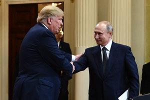 На встрече с Путиным Трамп импровизировал - СМИ