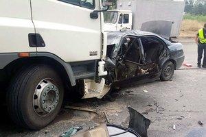 В Запорожье умер водитель, раненный в лобовом ДТП с грузовиком