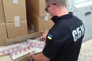 Одесская СБУ перехватила огромную партию контрабанды сигарет из Приднестровья