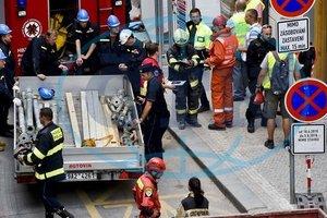 В посольстве рассказали о состоянии пострадавших на стройке в Праге украинцев