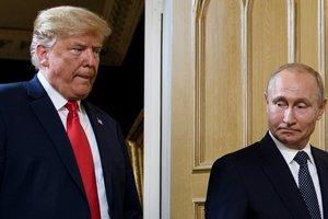 """Журнал Time """"скрестил"""" Путина и Трампа: что из этого вышло (фото)"""