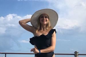 Эксклюзивные фото с отдыха Лилии Ребрик в Болгарии