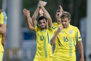 Сборная Украины сыграла вничью с Англией на Евро-2018