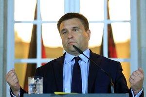 После заявления главы МВД Италии Климкин предупредил об ответственности