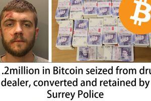Полиция Великобритании реализовала конфискованные Bitcoin на сумму в 1,5 млн долларов