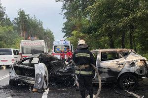 Под Киевом произошло страшное ДТП: погибли три человека