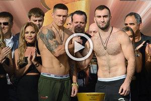 Усик - Гассиев: когда начало боя и где смотреть