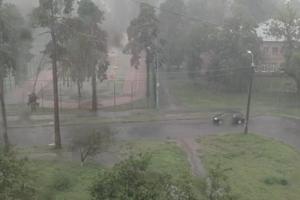 Мощный ливень в Киеве: опубликованы яркие видео