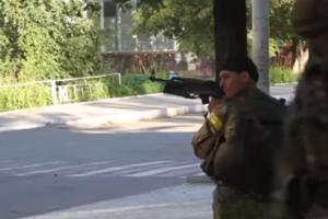 Годовщина освобождения Торецка: появилось уникальное видео боя за город