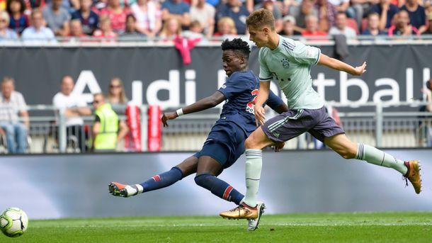 «Бавария» одолела «ПСЖ» вматче интернационального кубка чемпионов