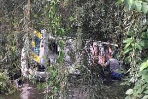 Под Киевом полицейский автомобиль во время погони слетел в реку - соцсети