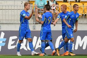 Сборная Украины вышла в полуфинал чемпионата Европы среди 19-летних
