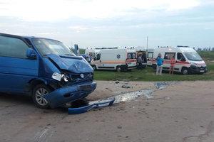 Жуткое ДТП произошло в Херсонской области: пострадали восемь человек