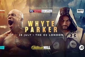 Где смотреть бой за два титула в супертяжелом весе Паркер - Уайт