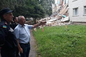 Обвал стены общежития в Житомирской области: появились новые подробности и фото