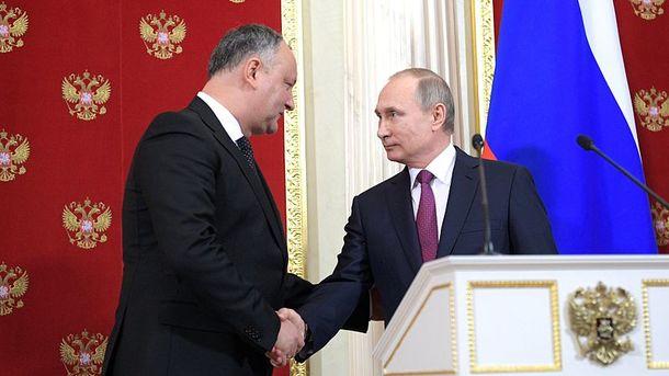 Молдова заинтересована впоставках газа изРФ вобход Украины— росСМИ