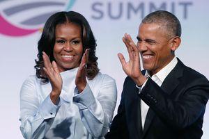 Мишель и Барак Обама зажгли на концерте Бейонсе и Джей Зи