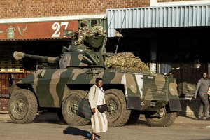 В Зимбабве после президентских выборов начались массовые беспорядки