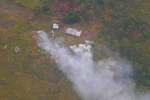 Украинские миротворцы на вертолетах в Конго ударили по боевикам: появились фото, видео