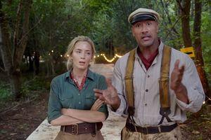 Опасное приключение в джунглях: появился крутой тизер комедии с Дуэйном Джонсоном и Эмили Блант