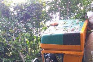 В Винницкой области столкнулись два грузовика: есть пострадавший