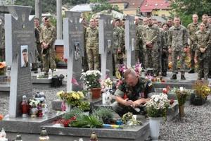 Во Львове почтили память погибших на Донбассе десантников