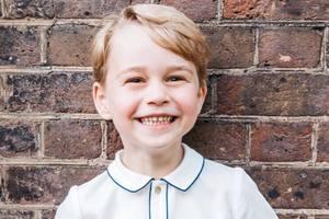 Принц Джордж дебютировал в списке самых стильных британцев 2018-го по версии Tatler