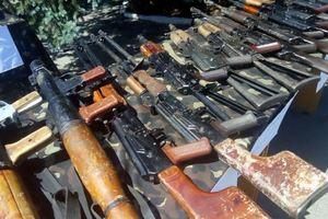 СБУ показала оружие, которым Савченко и Рубан планировали обстрелять центр Киева (фото)
