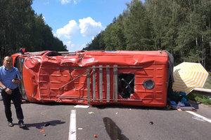 Авария автобуса с детьми в Черниговской области: появились новые подробности и фото