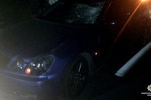 В Харькове под колесами автомобиля Lexus погиб пешеход