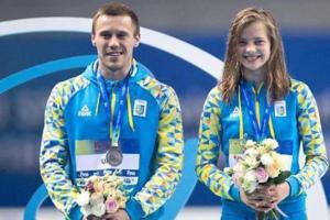 Украинский дуэт стал чемпионом Европы по прыжкам в воду
