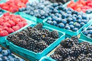 Украина резко увеличила экспорт ягод и орехов