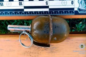 В Харькове возле жилого дома нашли боевую гранату