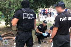 В центре Одессы предотвратили взрыв и убийство: появились фото и видео
