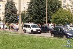 В Виннице автомобиль сбил десятилетнюю девочку на пешеходном переходе