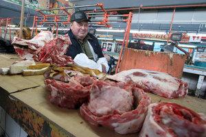 В Украине подскочили цены на мясо и овощи